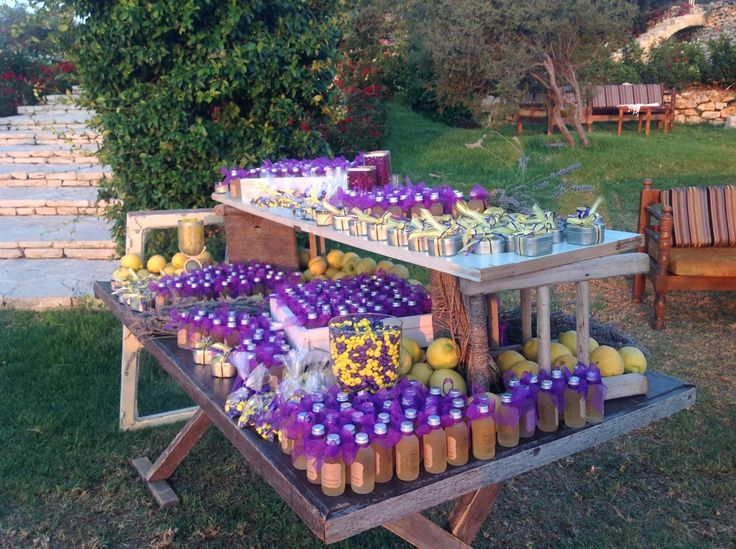 wedding ideas lebanon limoncello welcome drink station arnaoon batroun 28238