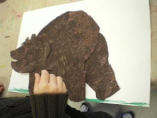 Maak zelf de bruine beer van Eric Carle