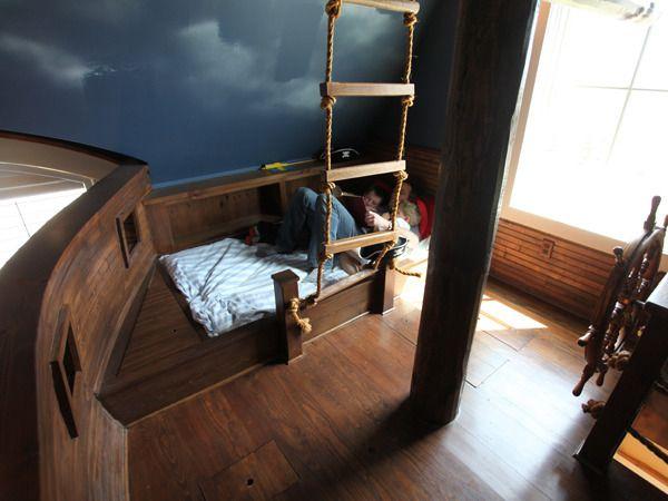 Kinderbett junge pirat  Die besten 20+ Kinderbett schiff Ideen auf Pinterest ...