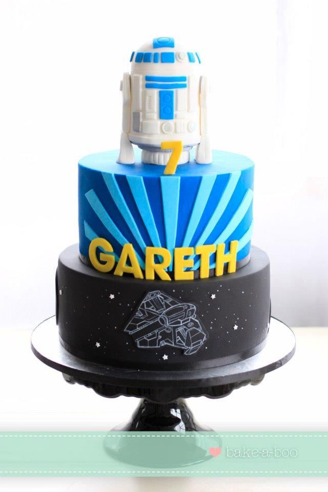R2d2 Cake By Bake A Boo Bakery For All Your Cake