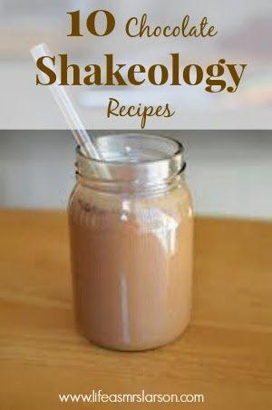 Life As Mrs. Larson : Chocolate Shakeology Recipes