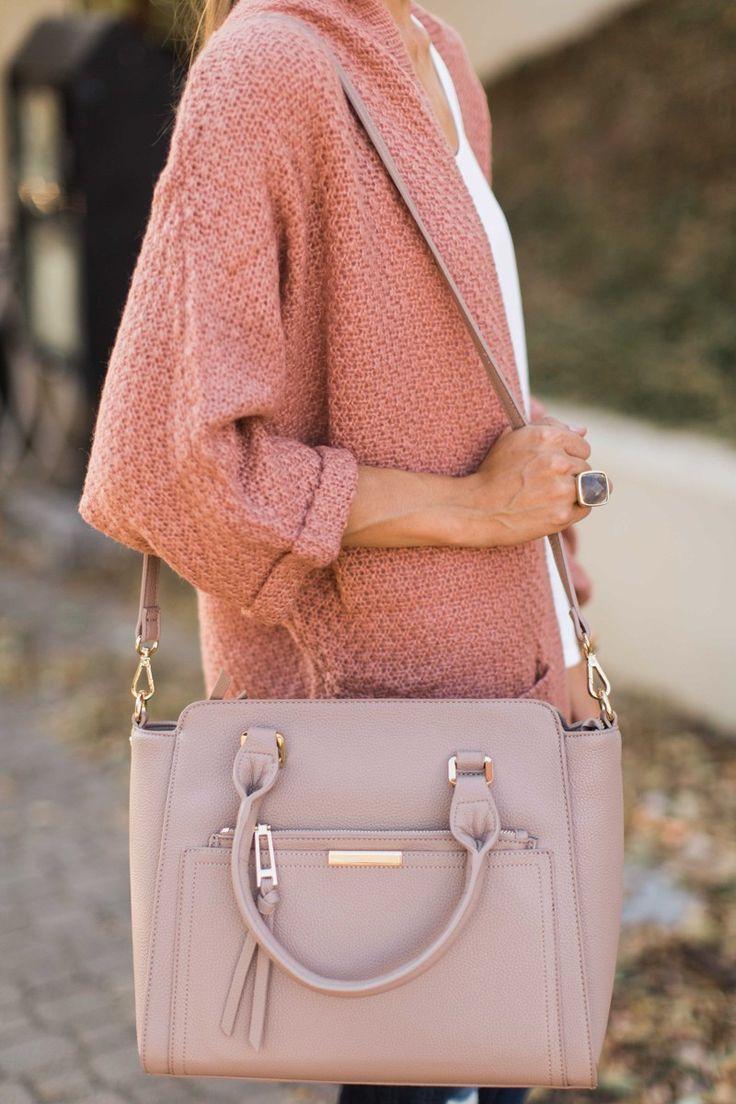 I've Got Plans Blush Pink Handbag at the reddressboutique.com