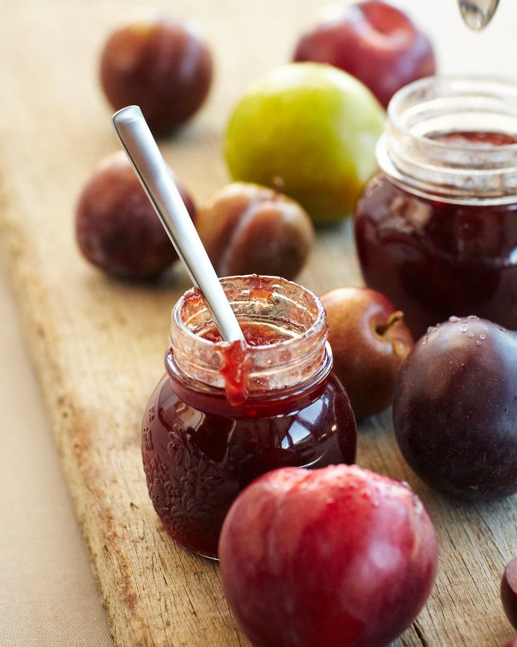 Plum and Vanilla Bean Jam Recipe | Avago Residence