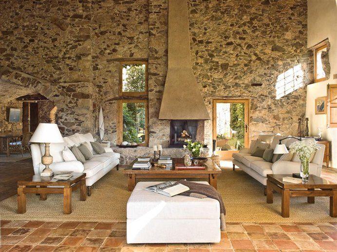 Una masía centenaria restaurada · ElMueble.com · Casas.  Saltillo tile