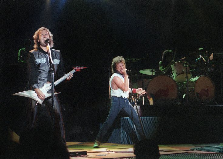 Foreigner at Wembley Arena 1th June 1985