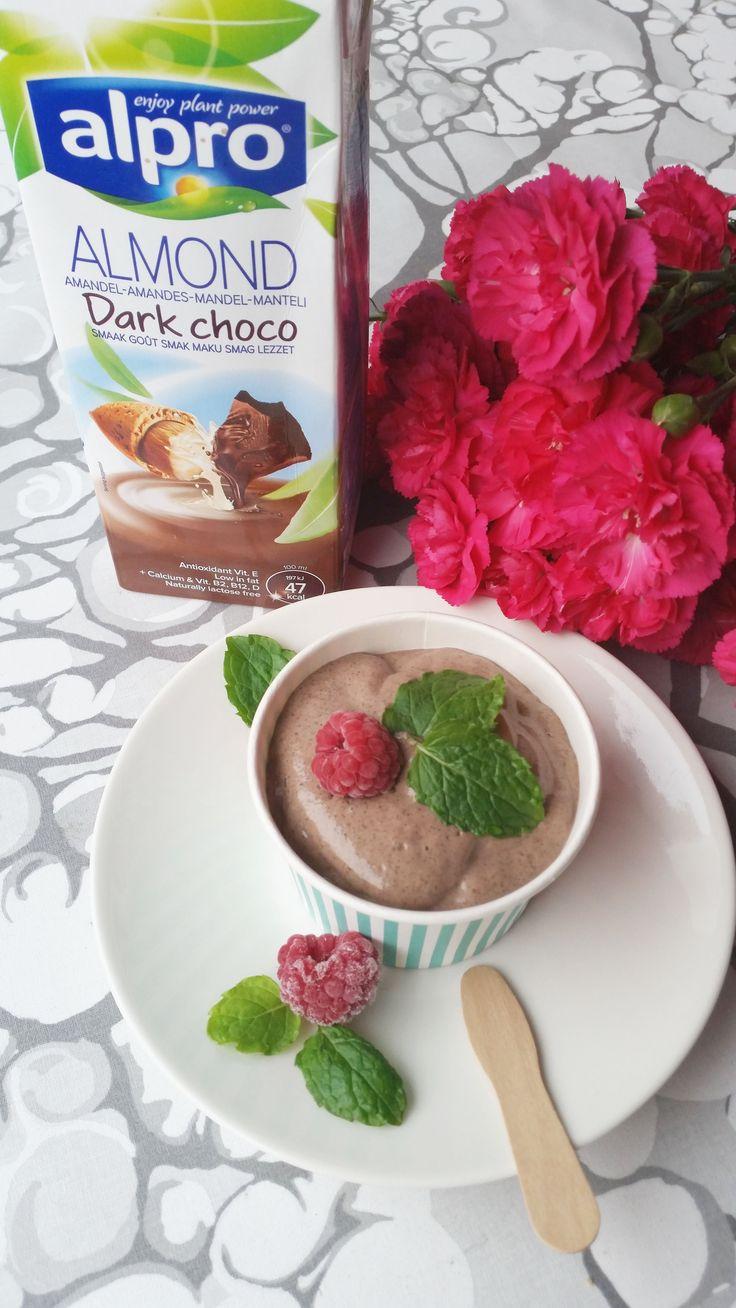 Proteiinipitoinen suklaavanukas (maidoton, vegaani) | Terveelliset herkut