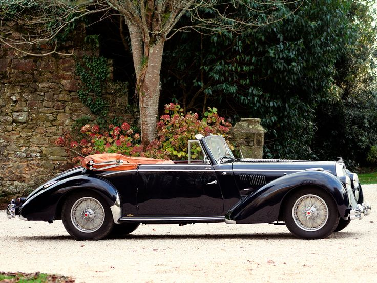 1950 Talbot Lago T26 Record Cabriolet - side