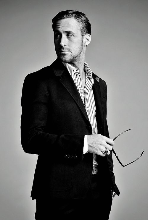 Ryan Gosling. Such a sexy man. He could be my husband, right?!