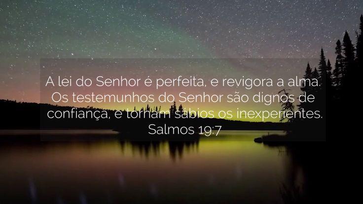 Salmo 19.7-8 - YouTube