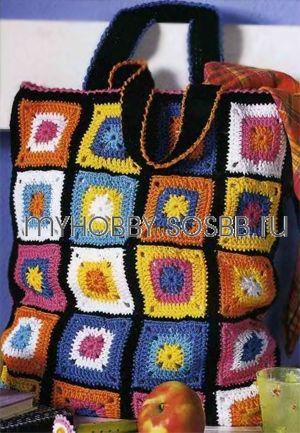 Сумка для продуктов (крючком) - Вяжем и шьем сумки