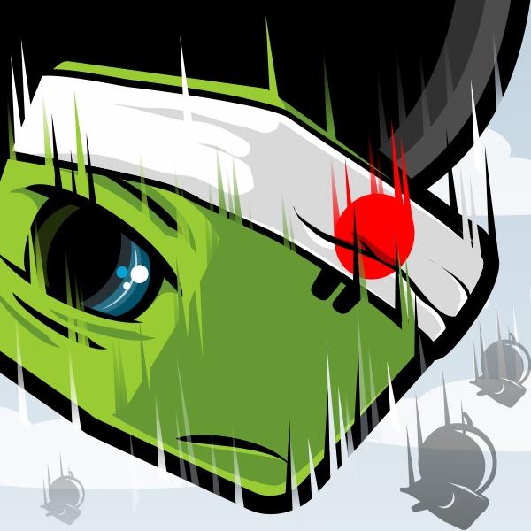 TurtleStrike Concept Art: Kamikaze Turtle