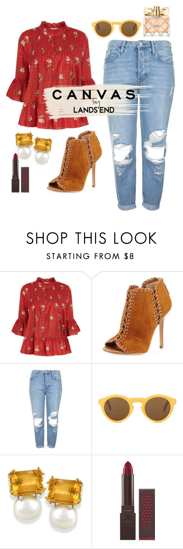 """""""Canvas."""" by emiam ❤ liked on Polyvore featuring Ulla Johnson, Michael Kors, Topshop, Burt's Bees, Avon and Lands' End"""
