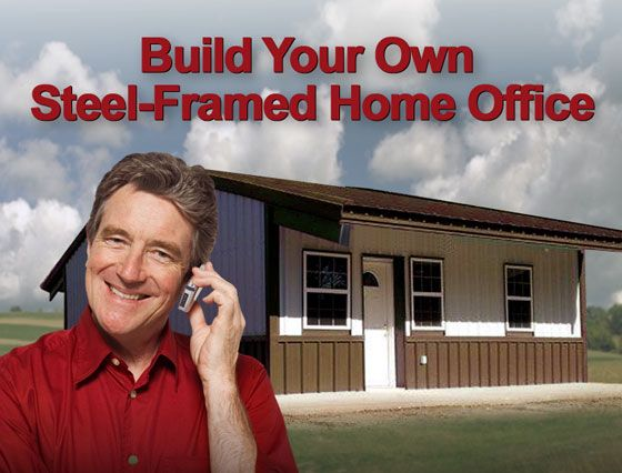 33 best rhino steel building systems blog images on for Build your own backyard office