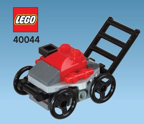 how to buils a lego tractor | Details about Lego LAWN MOWER June 2012 Monthly Mini Model Build Brick ...