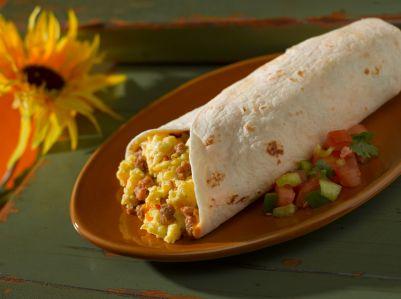 Breakfast Burrito Recipe from our 6 Week Slim-Down Challenge