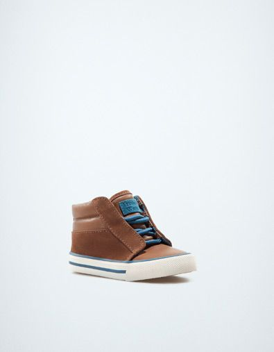 fashion high-top sneaker - Shoes - Baby boy (3-36 months) - Kids - ZARA United States