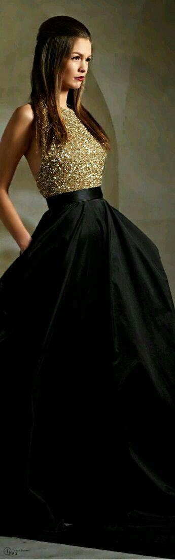 Ball gown dress - vestido de gala