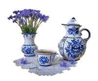 kék porcelán