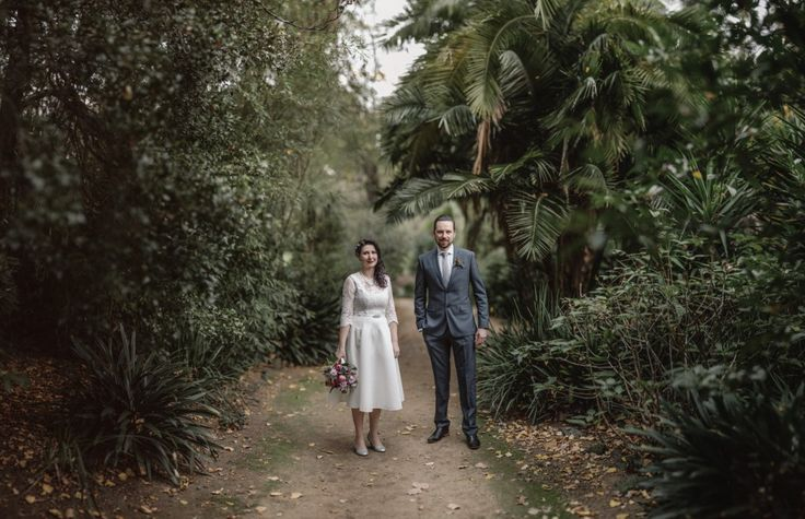 Royal Botanic Gardens Melbourne wedding