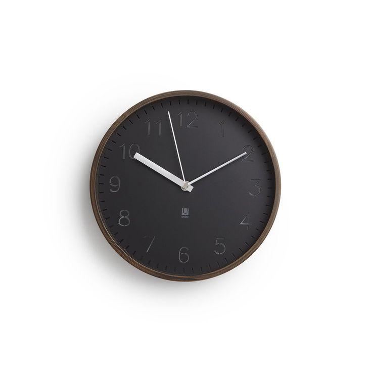 RIMWOOD CLOCK WALNUT