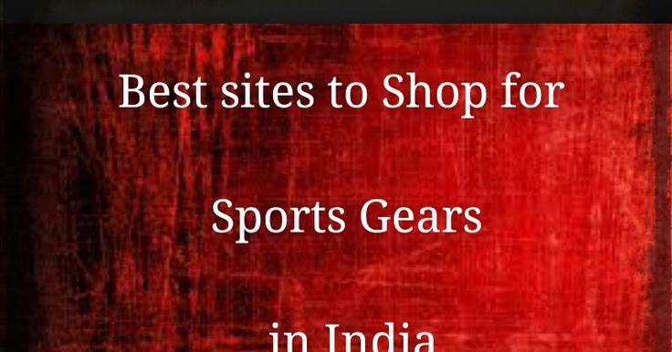 Ads2020-  7 Shopping Websites to Buy Sports Goods Items Online in India #advertising