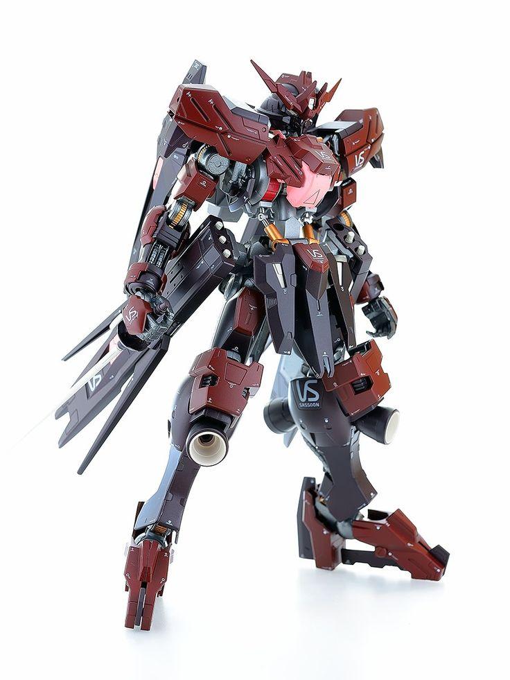 1/100 Full Mechanic Gundam Vidar   (Release Date: Dec 2016, Price: 3,240 yen)     Modeled by ミストル