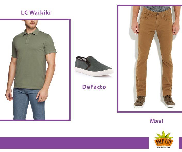 #lcwaikiki #defacto #mavi #tshirt #ayakkabı #pantolon #yeşil #hardal