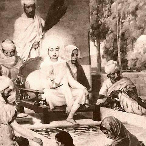 #SikhArt #DarshanKaroJi Depiction of Shri Guru Harkrishan Sahib Ji! Share & Spread! Dhan Sikhi!