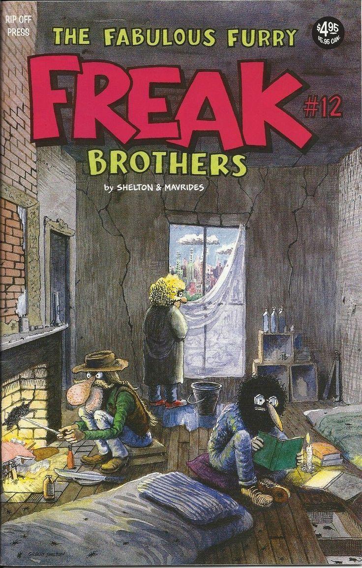 The Fabulous Furry Freak Brothers 12 by Gilbert Shelton | eBay
