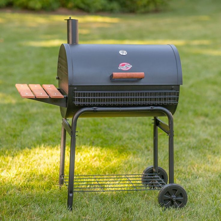 Charcoal Grill Smoker Cart Outdoor Portable Barbecue BBQ Cooking Picnic Camp  #CharGriller