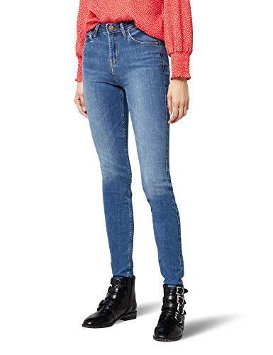 d2497eb2896 Lee Scarlett High Vaqueros Skinny para Mujer Azul (Ninety Nine Hazv) W25 L33