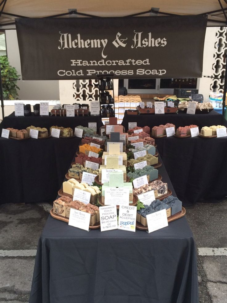 great soap display example
