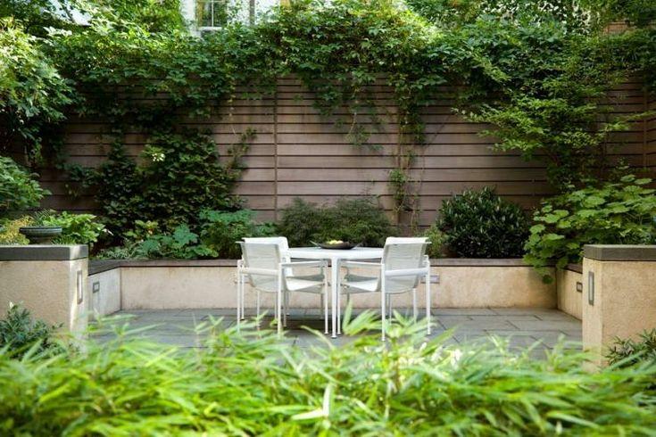 brise vue terrasse coin-repas-plantes-grimpantes