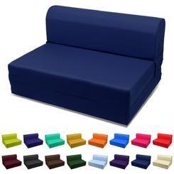 "Magshion Furniture (23""W x 70""L x 5""H) 5 Inches Single Size Sleeper Chair Foam Folding Bed,Mattress,Mat,Ottoman,Sofa Choose Color"