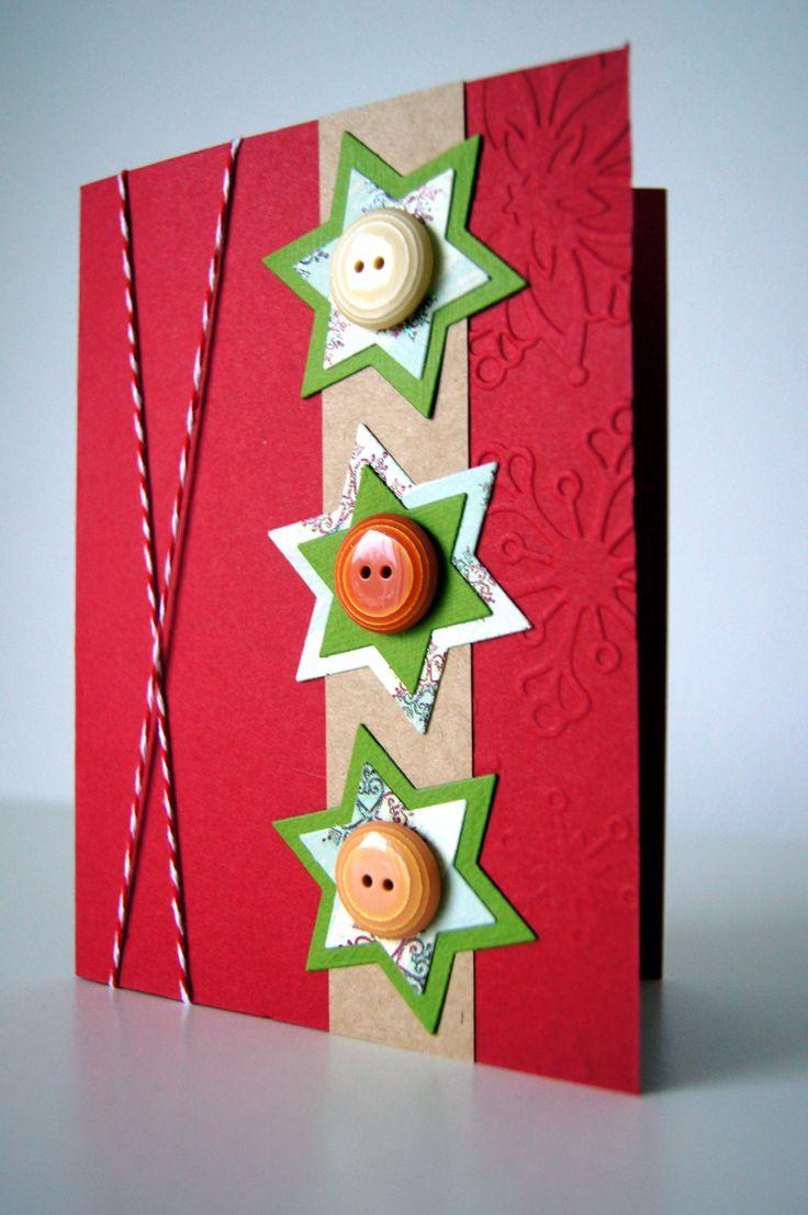 Handmade by JoHo - kerst kaart - Christmas card - kaarten maken
