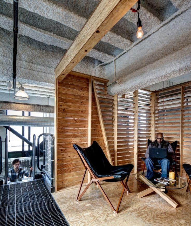 Lowe Campbell Ewald Headquarters Office Design. WasserfallInnen  BüroLernumgebungenInnenarchitekturBüroräumeArbeitsplatzÖffentliche Bereiche DetroitBüros