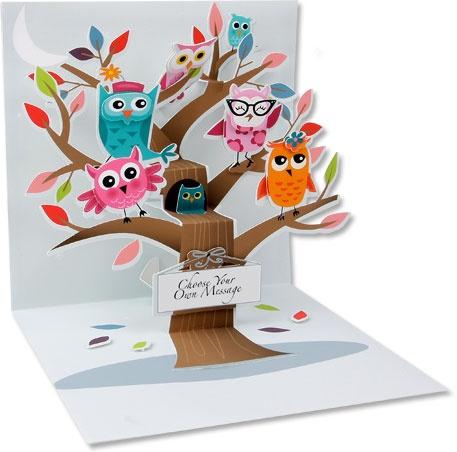 Pop Up Card.  Very cute.