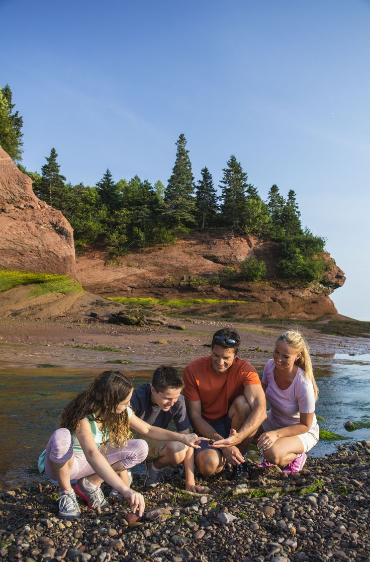 Explore the St. Martins Sea Caves in the Bay of Fundy to experience first-hand the magnificence of the highest tides in the world. | Cruise excursions in New Brunswick, Canada
