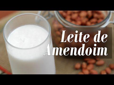 Leite de Amendoim - Presunto Vegetariano
