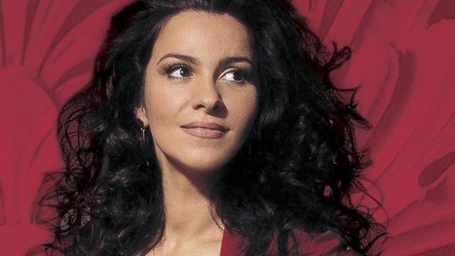 Angela Gheorghiu - the Romanian, world-famous soprano and former wife of Tenor Robert Alagna.