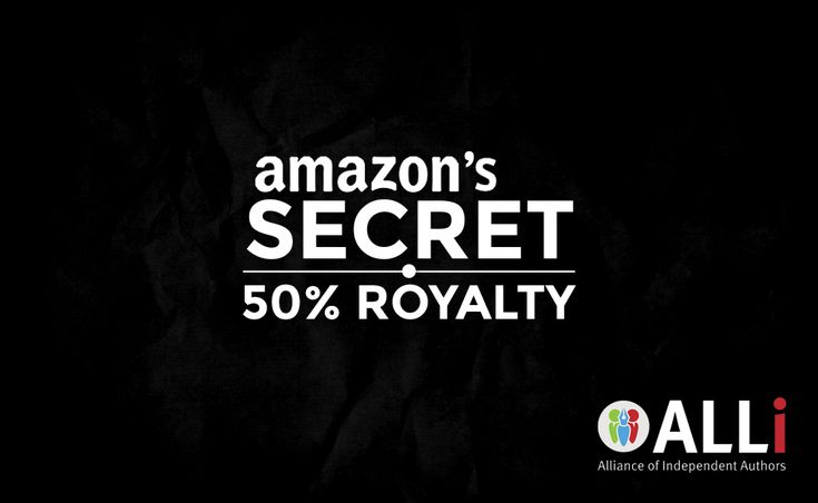 Amazon's Secret 50% Royalty Slips Out | Self-Publishing Advice Center