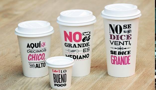 """""""Cielito Querido"""" es una cadena de cafeterías situadas en México. Por todas partes palabras, mensajes, dichos y #todoloquenosonpalabras"""