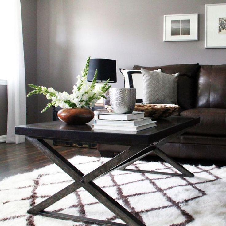 33 Modern Living Room Design Ideas: 33 Best Dark Furniture DeCor Images On Pinterest