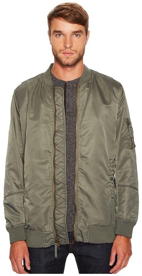 Vince Elongated Aviator Jacket Men's Coat