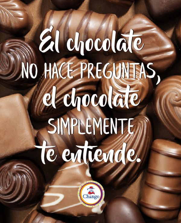 Asi De Simple Chocolate Reposteria Dulce Frases De Chocolate Frases Dulces Frases Con Chocolate
