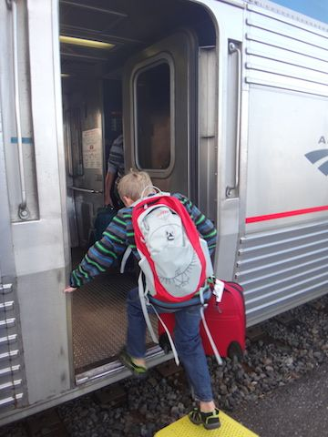 Riding Amtrak How And When To Enjoy An Affordable Rail Trip With Kids Places Pinterest Travel Tips Train