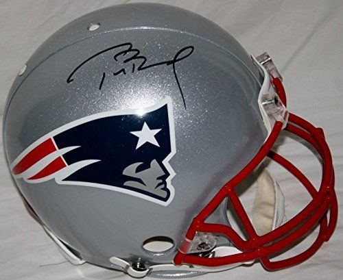 Autographed Tom Brady Helmet - Full Size Proline w Tristar Hologram