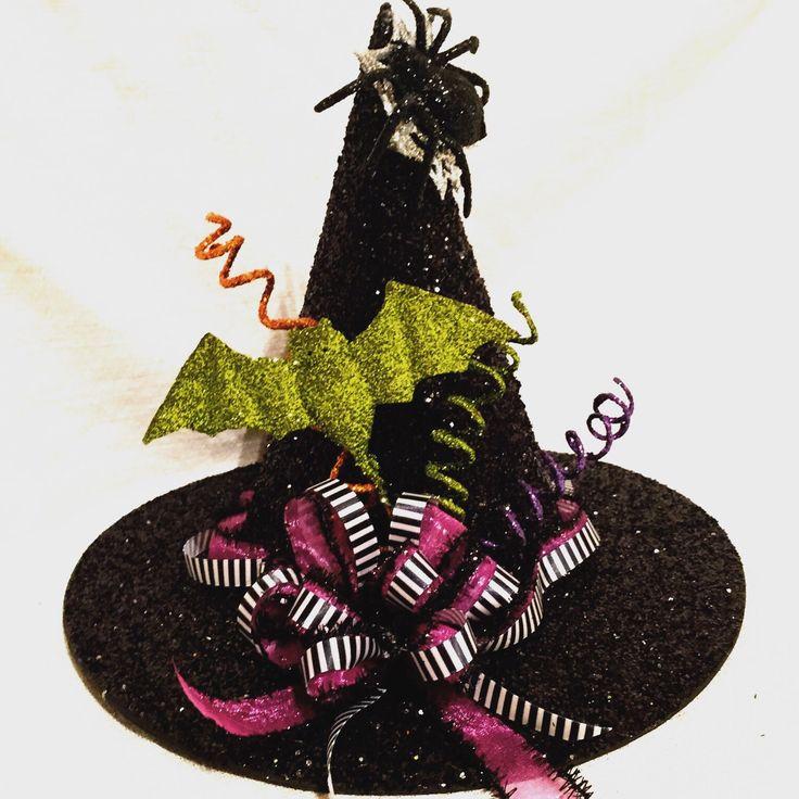halloween centerpiece halloween decor witch hat by lafetedecor