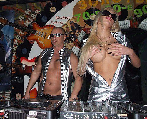 Sexy dj milana topless concert djset - 2 3