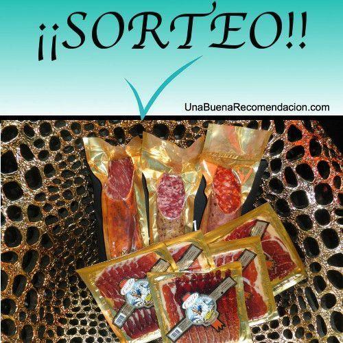 """Sorteo Lote Embutidos Ibéricos de Bellota """"Cinco Soles"""""""